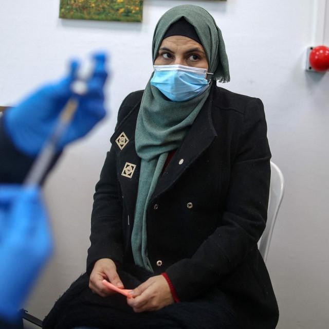 Cijepljenje na Zapadnoj obali