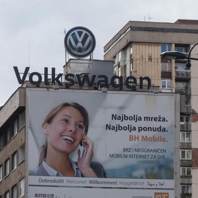 Volkswagenov oglas u Sarajevu
