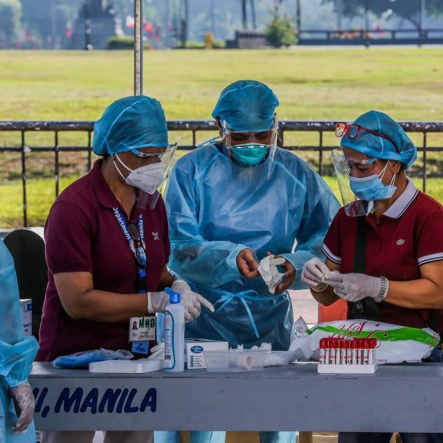 Medicinske sestre u Manili