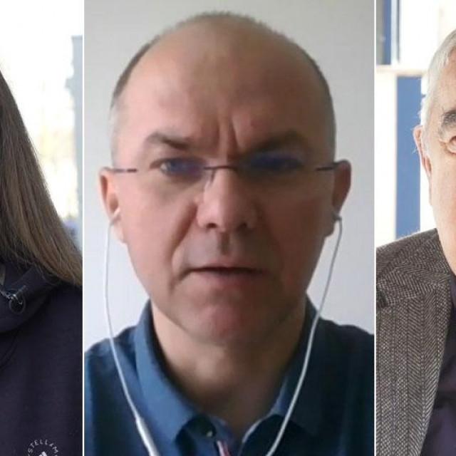 Jana Vukić, Dragan Bagić, Ivan Zvonimir Čičak