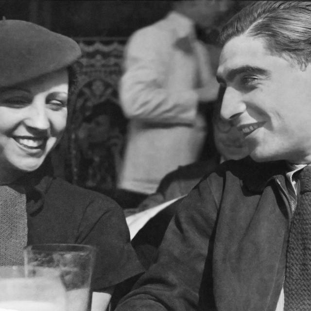 Gerda Taro i Robert Capa