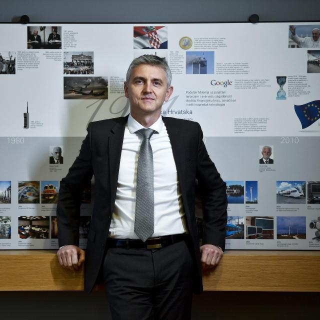 Gordan Kolak, predsjednik Uprave Končar Eletroindustrije