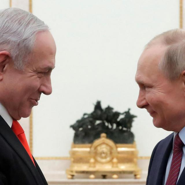 Benjamin Netanyahu iVladimir Putin