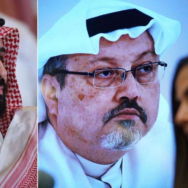 Mohammed bin Salman i Jamal Khashoggi