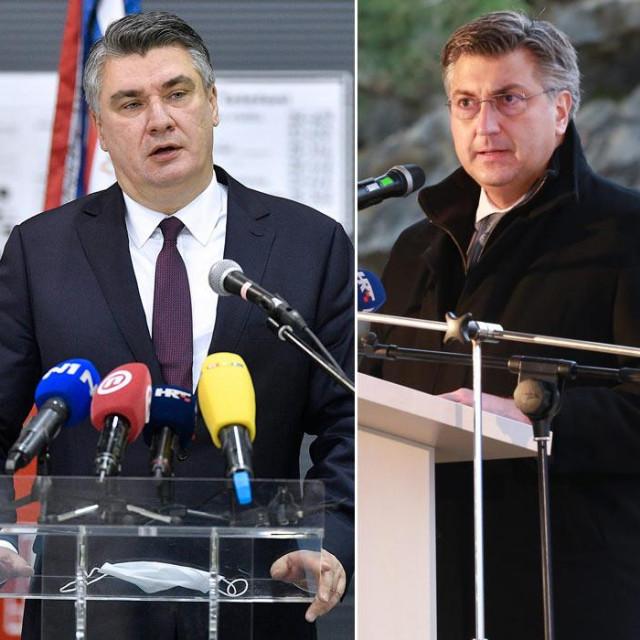 Zoran Milanović, Andrej Plenković, Peđa Grbin