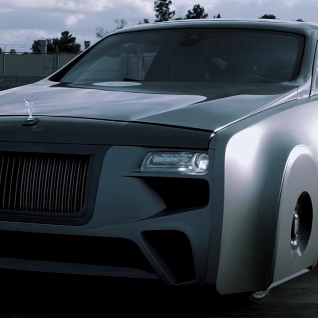 Bieberov Rolls Royce