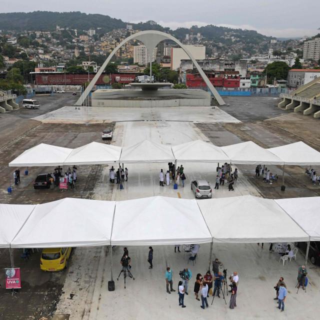 Sambadrome u Rio de Janeiru