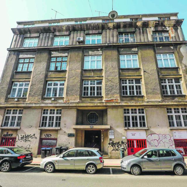 Na fotografiji: Zgrada u Palmotićevoj