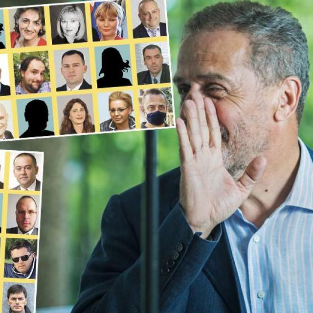 Milan Bandić i članovi političkih stranaka koji su zaposleni u gradskim uredima, tvrtkama i institucijama