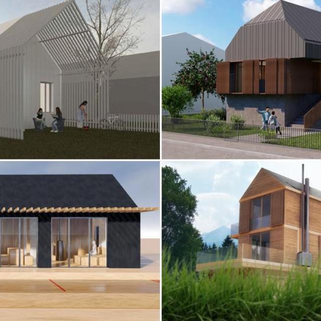 Tipske kuće koje će se graditi na Baniji