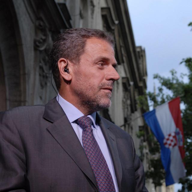 Milan Bandić, snimljen 2007. godine