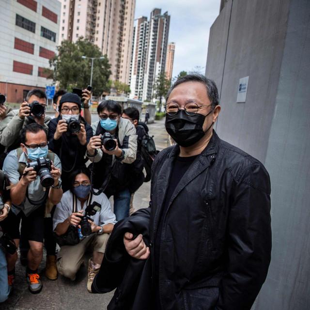 Jedan od optuženih aktivista Benny Tai