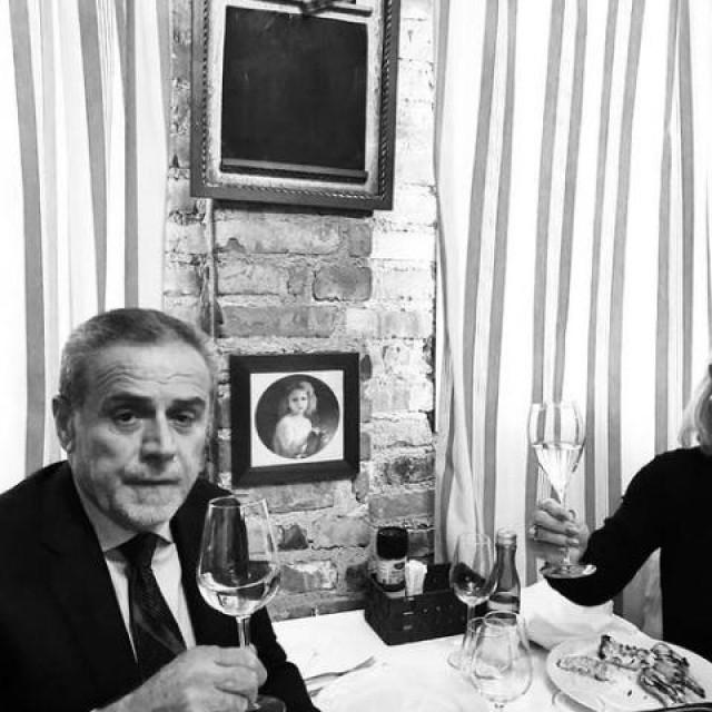Milan Bandić i Lepa Brena