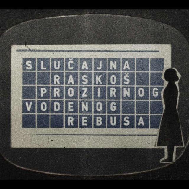 Kadar iz filma 'Slučajna raskoš prozirnog vodenog rebusa' Dalibora Barića