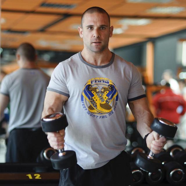 Joško Bašić, voditelj splitskog fitness centra Joker