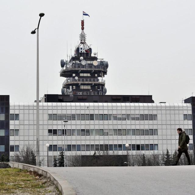 Zgrada Hrvatske radiotelevizije na Prisavlju.<br />