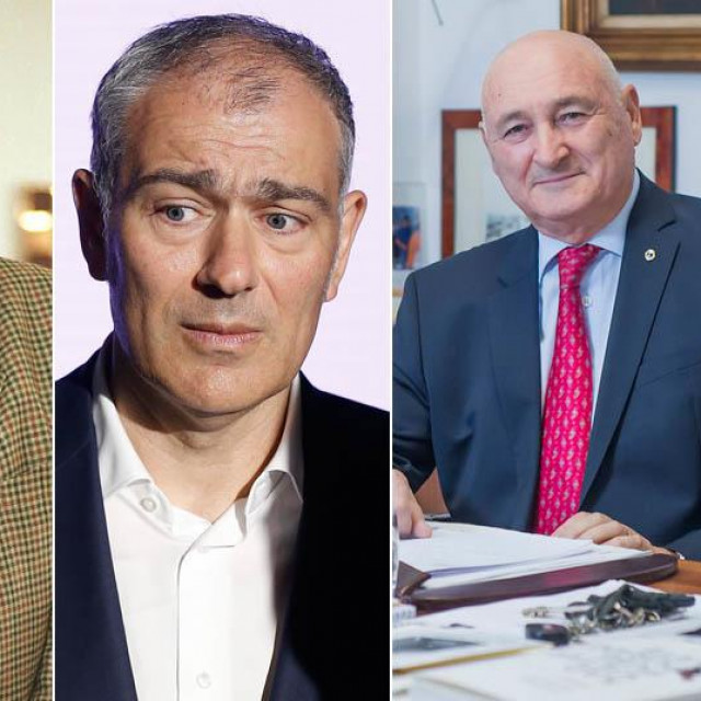 Milan Artuković, Emil Tedeschi, Branko Roglić, Pavo Zubak