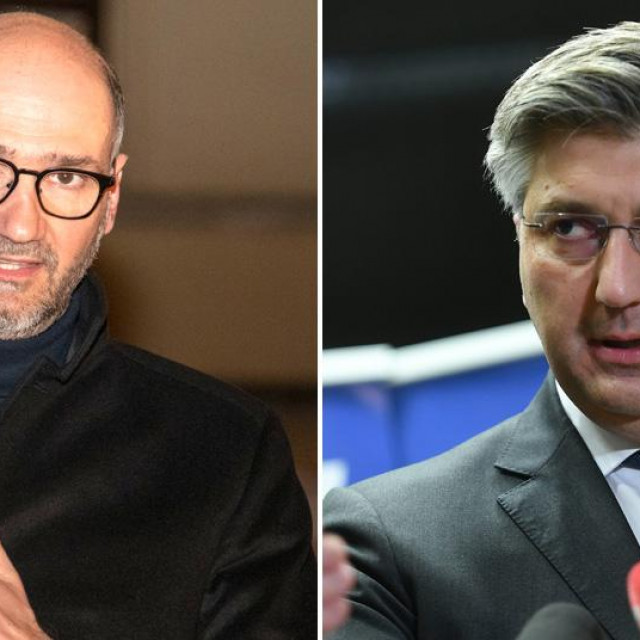 Joško Klisović i Andrej Plenković