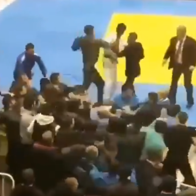 Masovna tučnjava na judo turniru u Dagestanu