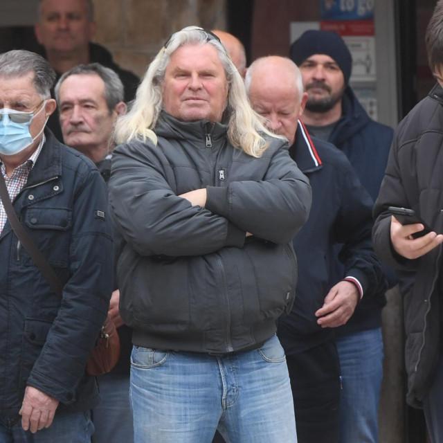 Prosvjed stožera za obranu Brodotrogira