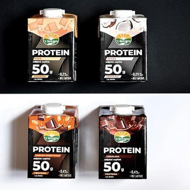 Vindija, 'z bregov protein mliječni napitak