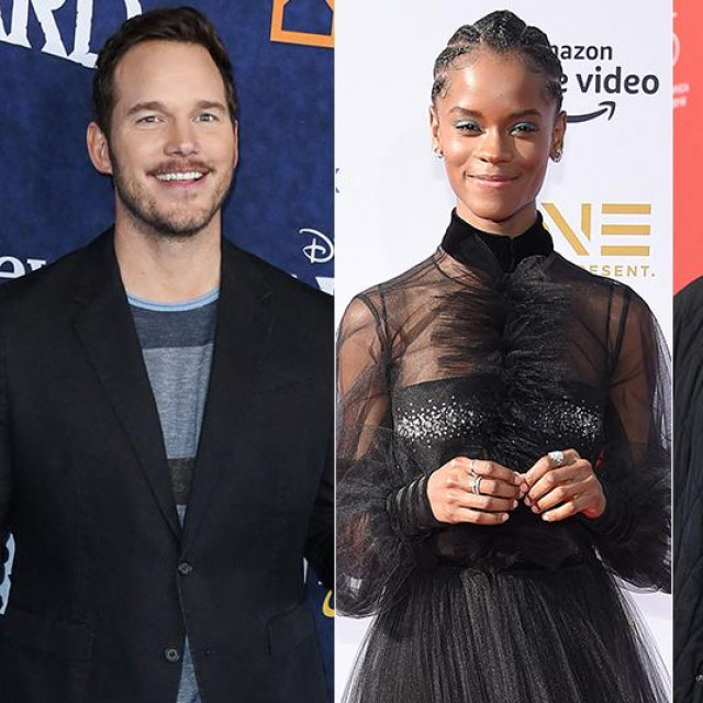Chris Pratt; Letitia Wright; Vince Vaughn; Gina Carano