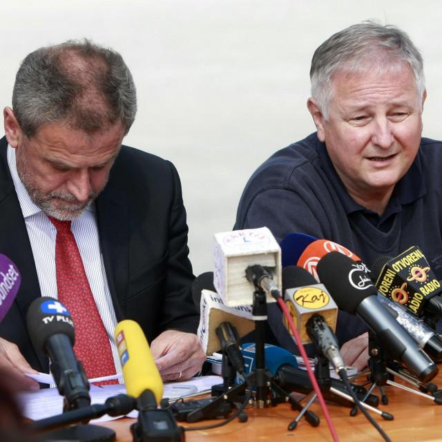 Milan Bandić i Slavko Kojić