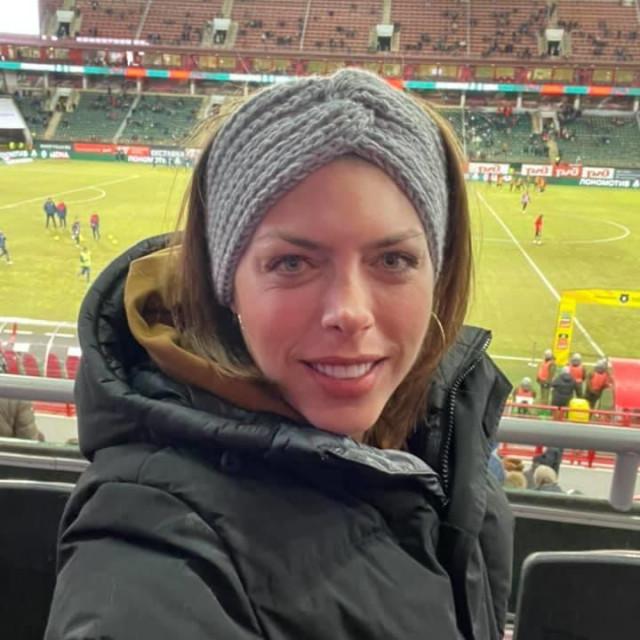 Blanka je uspjela pogledati i utakmicu brata Nikole u dresu CSKA-a