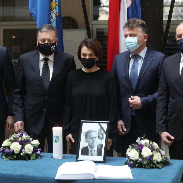 Abdulah Skaka, Zoran Janković, Jelena Pavičić Vukičević, Petre Shilegov i Zoran Radojičić