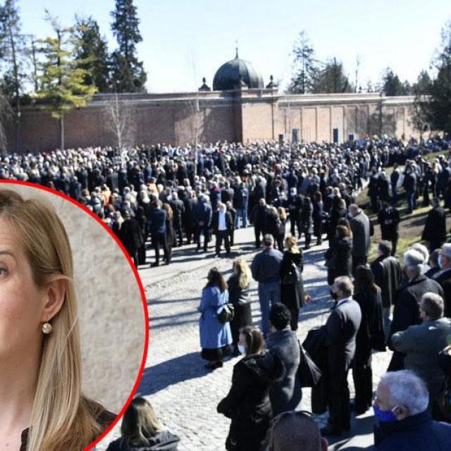 Mirela Ahmetović o pogrebu Milana Bandića