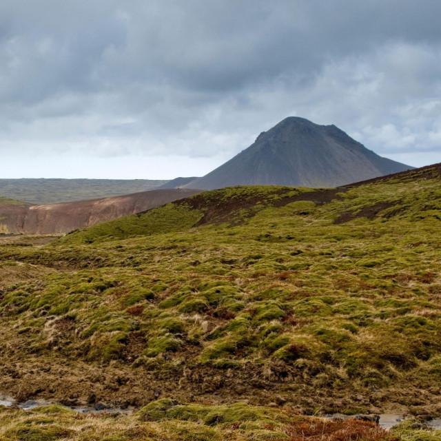 Planina Keilir na Islandu
