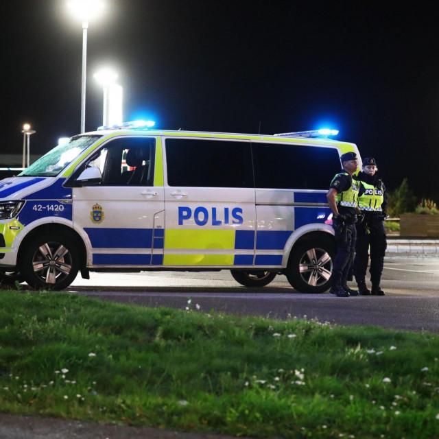 Policija u Švedskoj, ilustracija