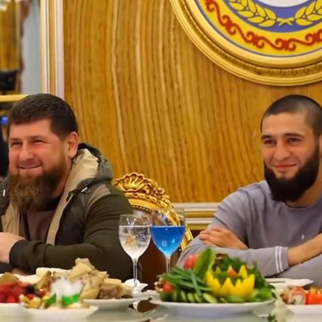 Ramzan Kadirov i Khamzat Chimaev