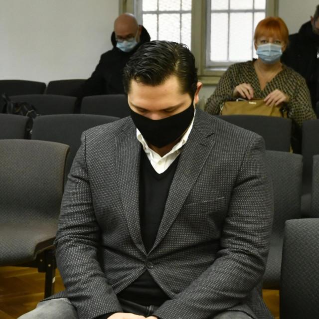 Marin Kamenički na sudu