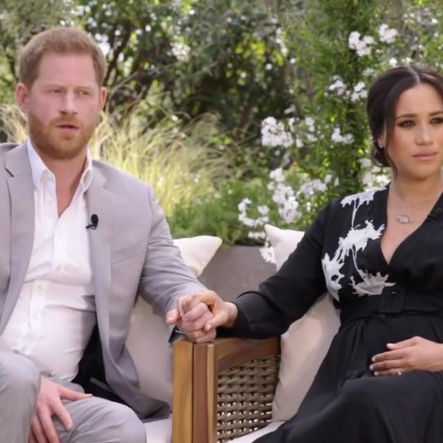 Princ Harry i Meghan Markle kod Oprah Winfrey