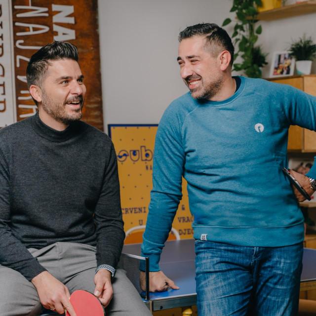 Aleksandar Lazinica i Dragoljub Božović