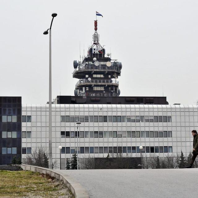 Zgrada Hrvatske radiotelevizije na Prisavlju
