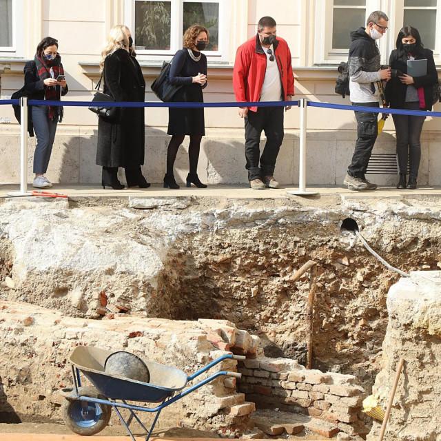 Arheološka istraživanja u Banskim dvorima