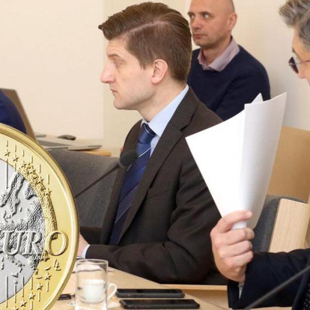 Boris Vujčić, Zdravko Marić, Andrej Plenković