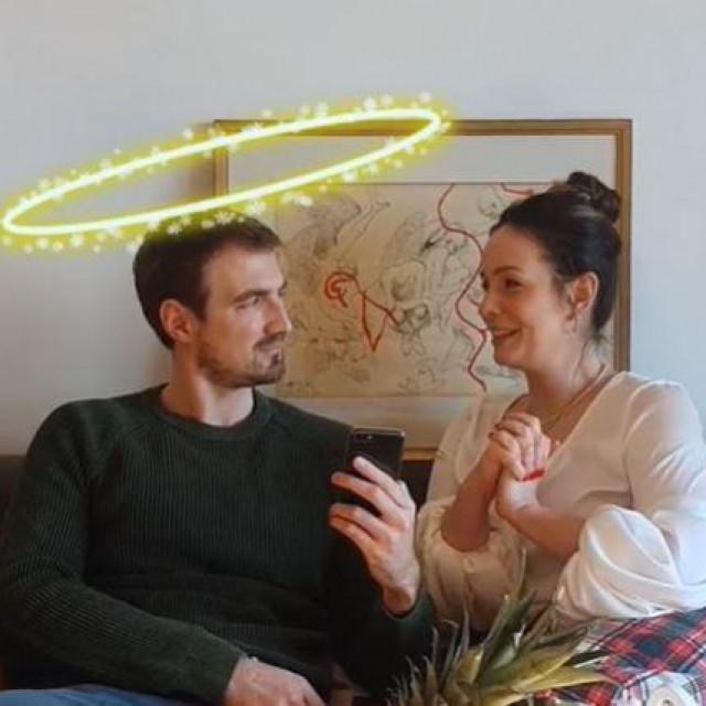 Silvije Pleština i Nana Nadarević