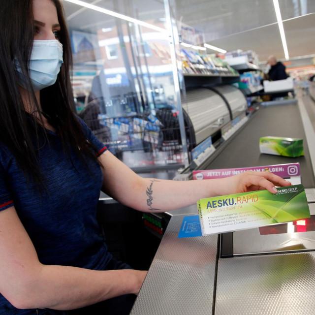 Prodaja brzih testova na koronavirus u Njemačkoj