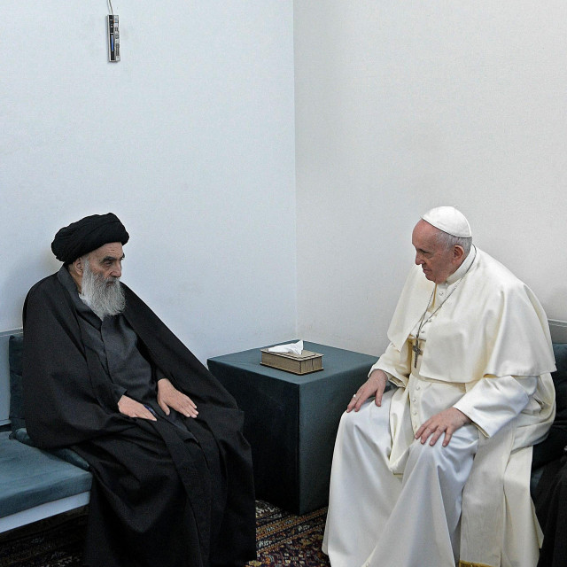 Ajatollah al-Sistani i Papa