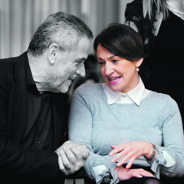 Milan Bandić i Jelena Pavičić Vukičević