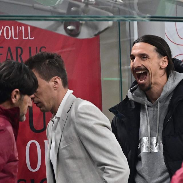 Zlatan Ibrahimovic i Mario Mandžukić