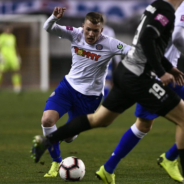 Emir Sahiti u dresu Hajduka