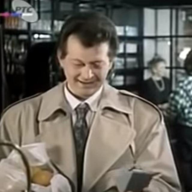 Boris Komnenić u ulozi Guze Popadića