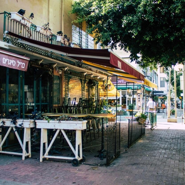 Zatvoreni restoran u Tel Avivu / Ilustracija