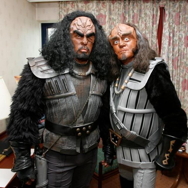 Klingonci/Ilustracija