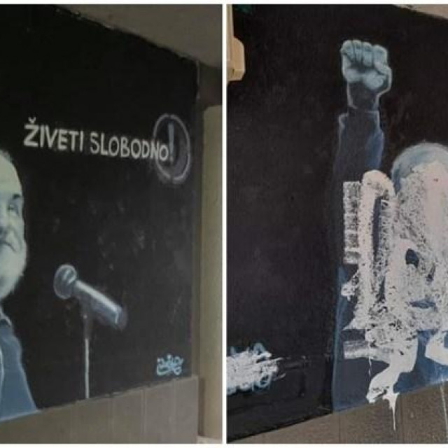 Mural posvećen Đorđu Balaševiću