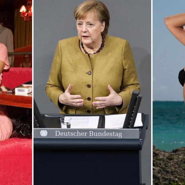 Žena iz Ukrajine, Angela Merkel i žena iz Brazila
